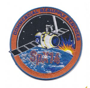 SpaceX's SPX-14 Commercial Resupply Service Patch